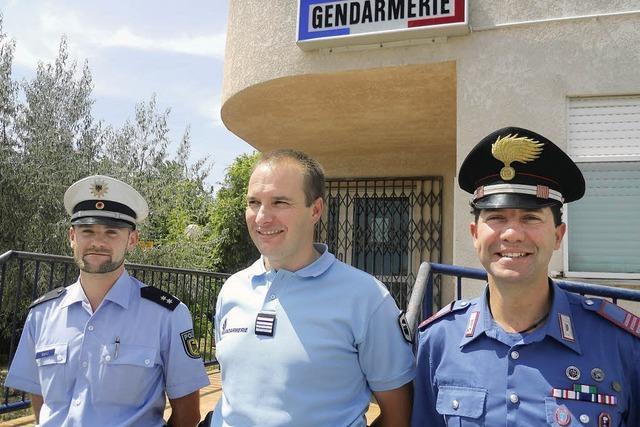 Offenburger Polizist hilft auf Korsika aus