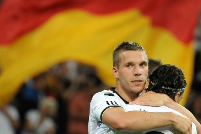 Özil-Gala beim deutschen 6:2 gegen Österreich