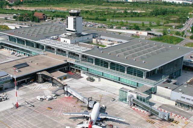 Land will Bahnanschluss des Euro-Airports fördern