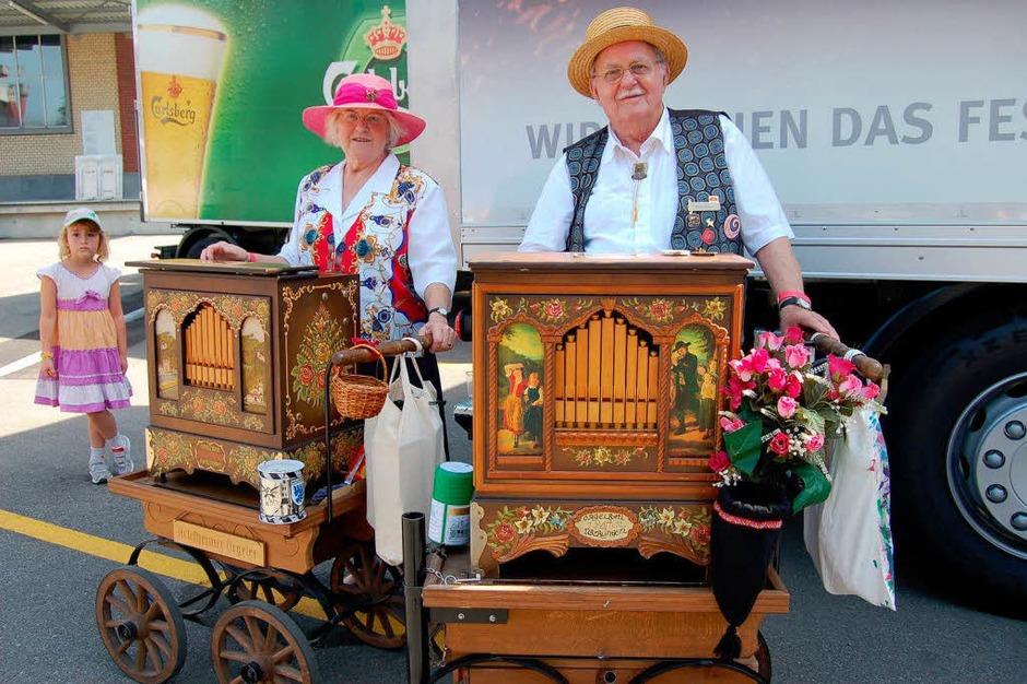 Drehörgeli beim Bierfest (Foto: Petra Wunderle)