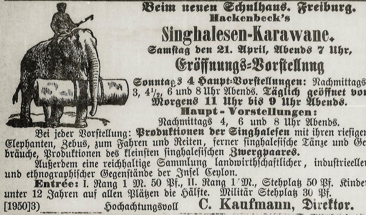 Anzeige aus der Freiburger Zeitung von...-FotoNurRepro>privat</BZ-FotoNurRepro>  | Foto: weismannicht