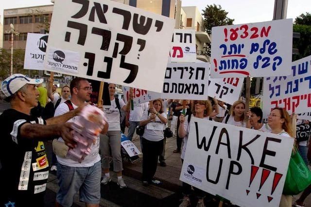 450.000 Demonstranten – historische Protestwelle in Israel