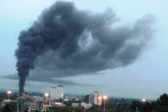 Rauchwolke über Village-Neuf hat ein Nachspiel