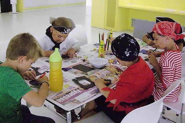 Junge Piraten entern Stadtbibliothek