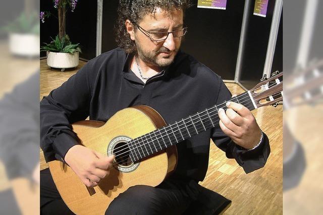 Klassische Gitarrenkonzerte in der Stadthalle
