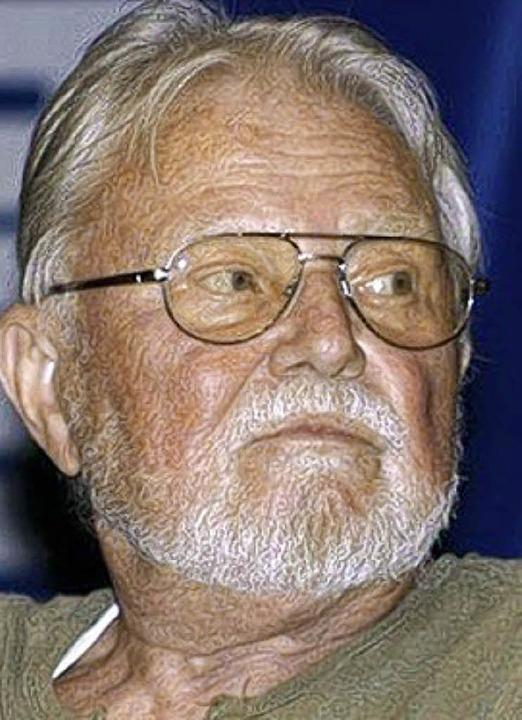 Bekannt wurde er als  H. G. Ewers: Horst Gehrmann  | Foto: Privat