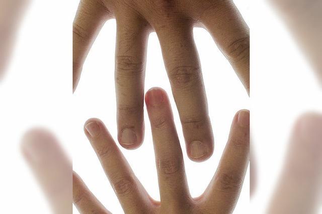Langfinger hier, Kurzfinger dort