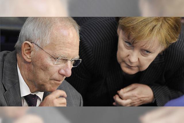 Schäuble: Abschied nehmen vom extremen Kapitalismus