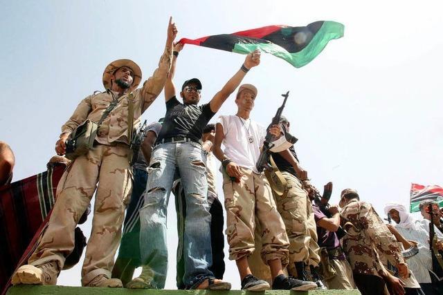 Nach Gaddafis Sturz entsteht ein neues Libyen