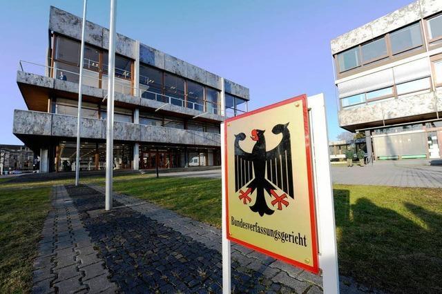 Verfassungsrichter billigen EU-Rettungsschirm