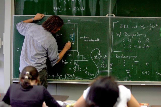 Lehrer schreiben Wunschzettel für Grün-Rot