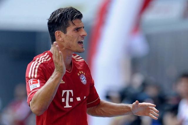 Gomez fit für das Spiel gegen den SC Freiburg