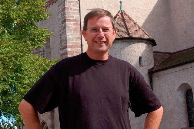 Werner Bauer, der neue Pfarrer der Seelsorgeeinheit Breisach-Gündlingen, im Interview