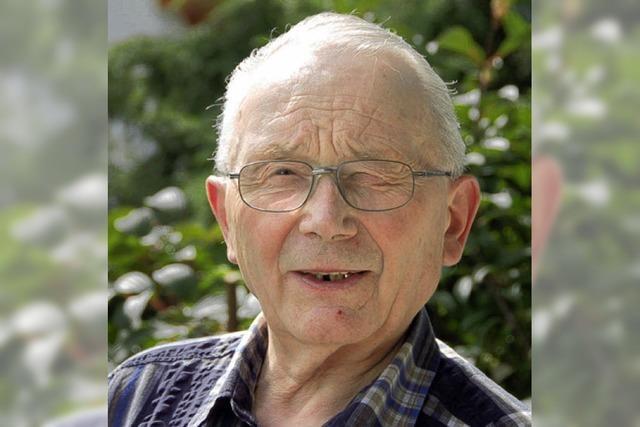 Günther Groß wird heute 80