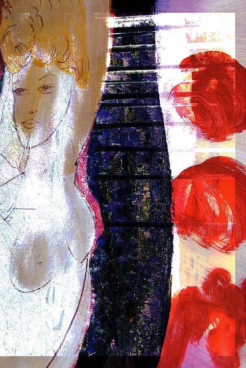 Farbkräftig: Malerei von Rainer Mertens (2004)   | Foto: Veranstalter