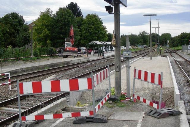 Bahnsteige werden länger, Züge nicht
