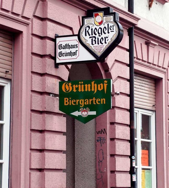 Hier wird schon lange kein Bier mehr g...newlinstraße in Freiburg (Archivbild).  | Foto: Ingo Schneider