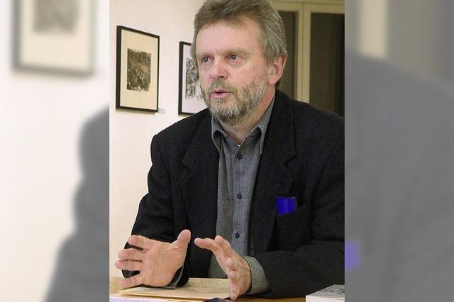 Frank van Veen gibt Vorsitz im Kunstverein ab