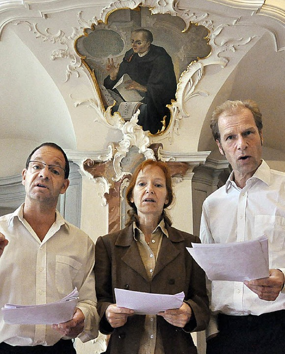 Theaterstück St. Peter  | Foto: Leopold Rombach