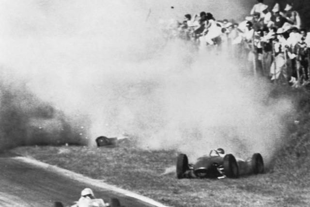 Der Horrorcrash von Monza
