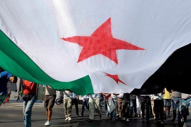 Greift Syriens Opposition zu den Waffen?