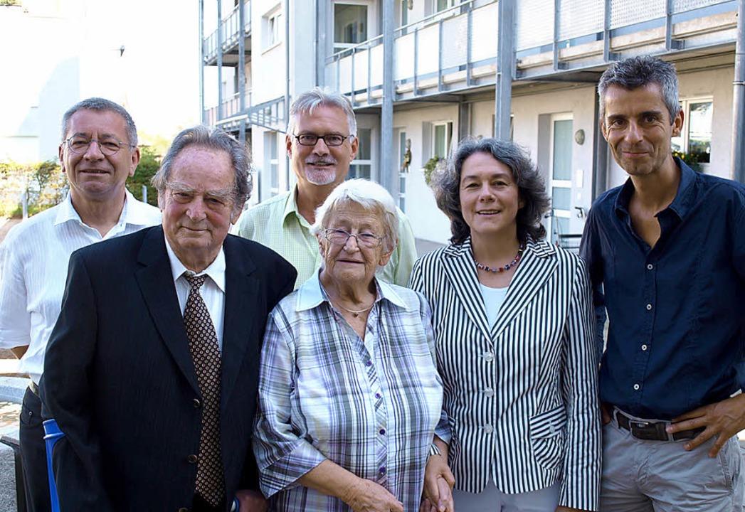 Zehn Jahre Lebensräume für Jung und Al..., Elisabeth Störk und Thomas Nostadt.     Foto: Schleer