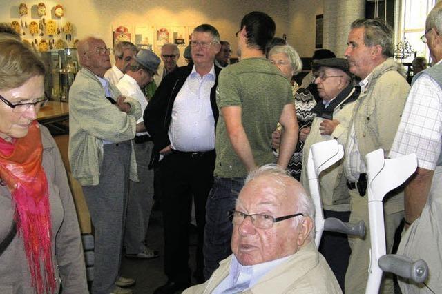Altstadträte besuchen Uhrenmuseum