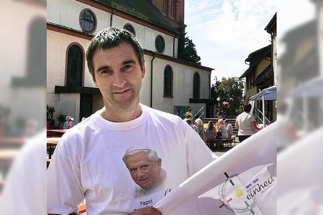 Fast 700 Anmeldungen für die Papstmesse in Freiburg