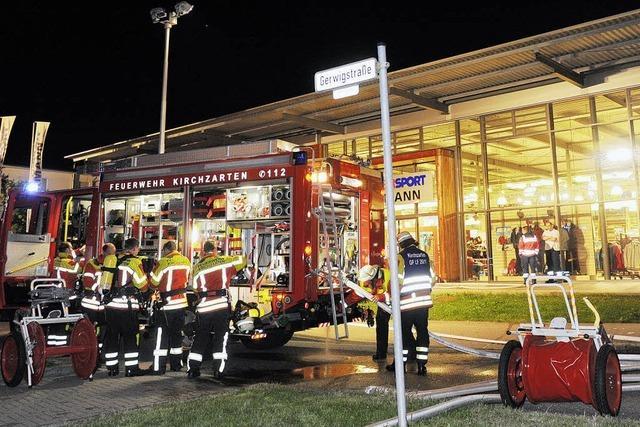 Tresorknacker ruft Feuerwehr auf den Plan