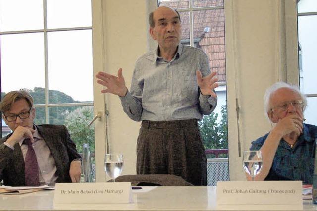 Weltpolitik in Grenzach diskutiert