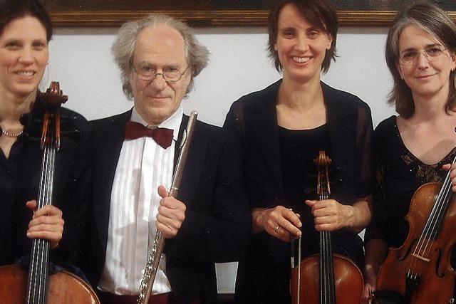 SAMSTAG: KLASSIK: Flötenquartette