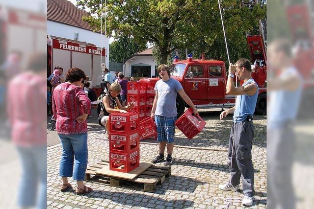 Spiel, Spaß, Musik und Einblick in die Feuerwehrarbeit