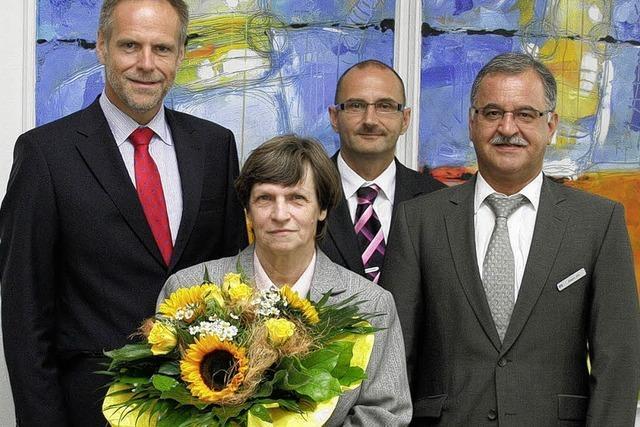 Ein halbes Jahrhundert in Diensten der Volksbank