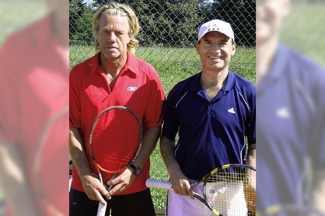 Andreas Maier neuer Tennis-Bezirksmeister