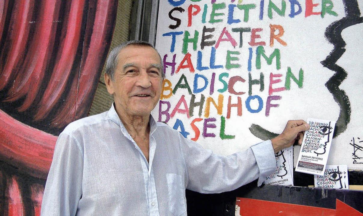 "Der Schauspieler Dieter Mainka feiert ...Volpone"" im Förnbacher-Theater.   | Foto: Roswitha Frey"