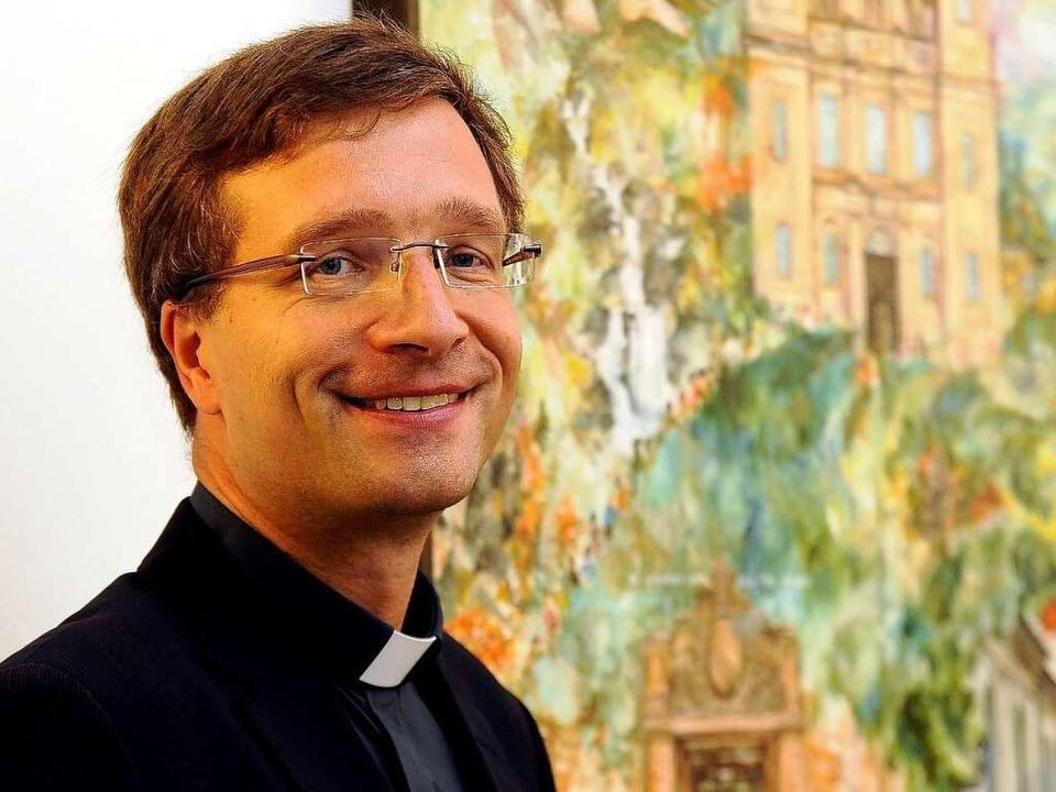 Michael Gerber – der päpstliche Quartiergeber.  | Foto: Ingo Schneider