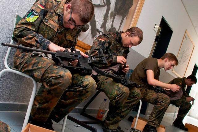Bundeswehrreform: Hat der Südwesten das Nachsehen?