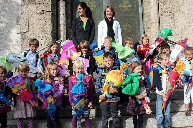 Für 69 Kinder beginnt die Schulzeit