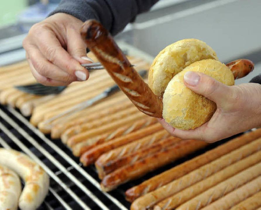 Offenbar sehr lukrativ ist das Geschäft mit der Münsterwurst.   | Foto: ingo schneider