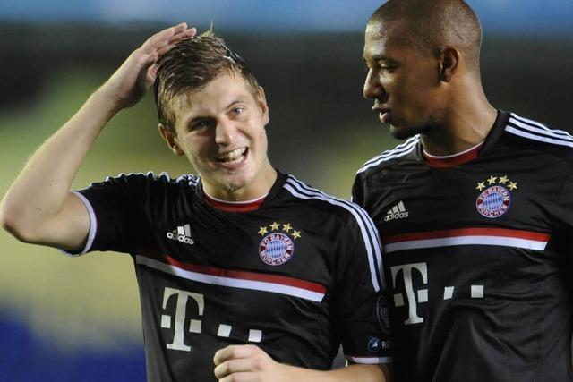 Bayern gewinnt sicher, Inter Mailand blamiert sich