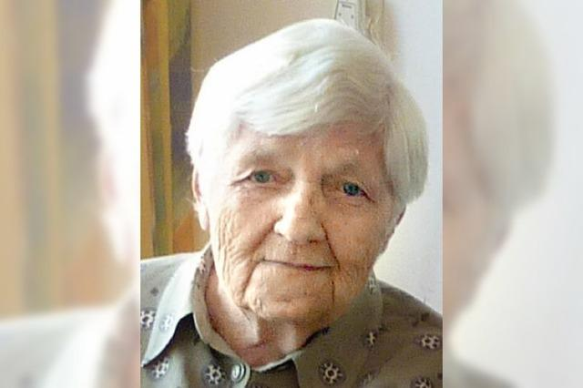 Hildegard Okroj wurde 85 Jahre