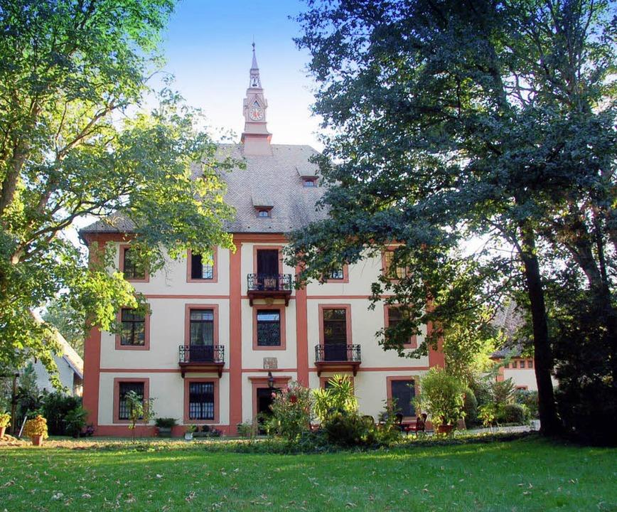 Feldkirchs Geschichte ist auch optisch...s Dorf kann auf ein Schloss verweisen.  | Foto: M. Donner