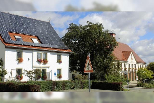 Keine Solaranlage auf dem Rathaus