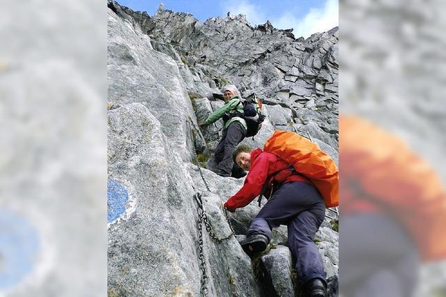 Alpenverein im Bergeller Granit
