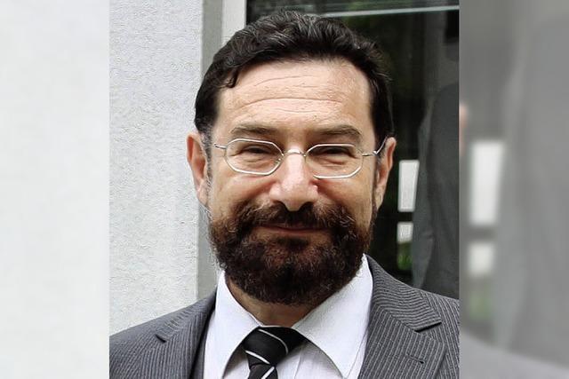 Der erste Rabbiner der Gemeinde