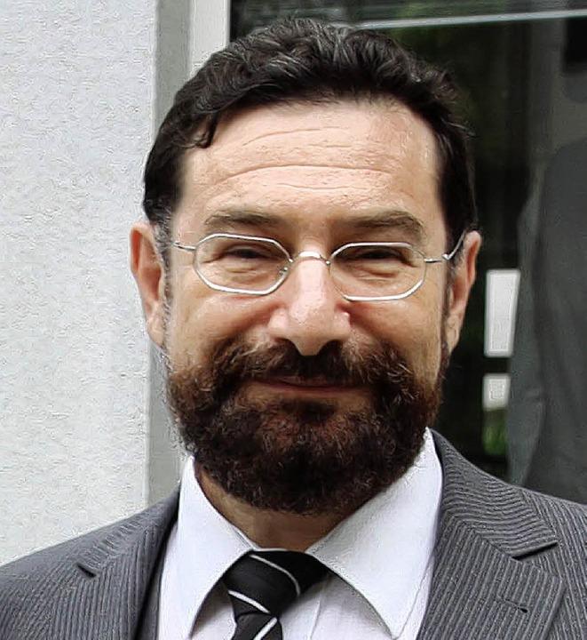 Erster Rabbiner der jüdischen Gemeinde...mmendingen ist Moshe Ben Towia Navon.   | Foto: Dagmar Barber