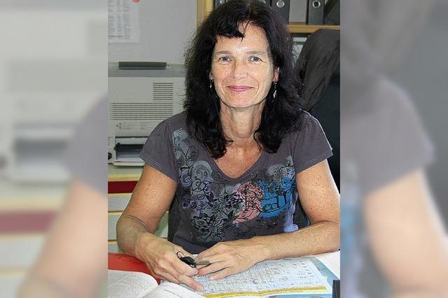 Alexandra Kexel ist Rektorin in Reute
