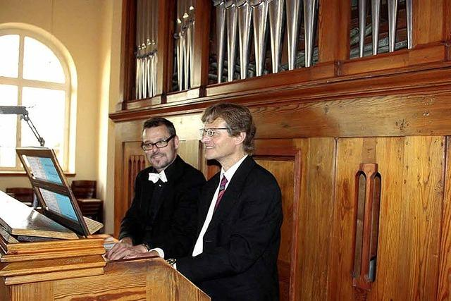 Virtuoses Orgelspiel im Doppelpack