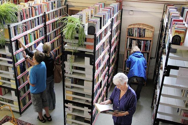 Zehn Jahre Bücher vor dem Müll gerettet