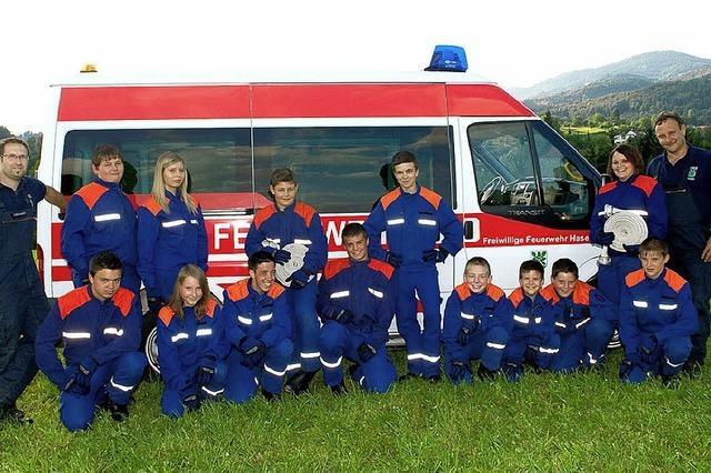 Bahn frei für die Jugend-Feuerwehr
